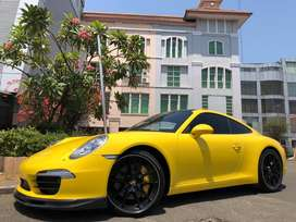 PORSCHE CARRERA S 3.4 911 ATPM YELLOW 2014 #evelyn