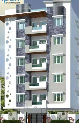 3bhk flat for sale at salarjung colony toilchowki