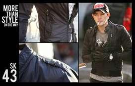 Jaket Kulit | Jaket Bikers | Jaket Korean Style | Jaket Keren (SK43)