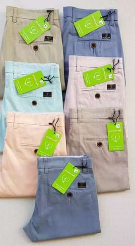Branded casual cotton pant's wholesalers