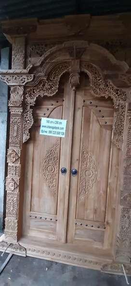 cuci gudang pintu gebyok gapuro jendela rumah masjid musholla muhta