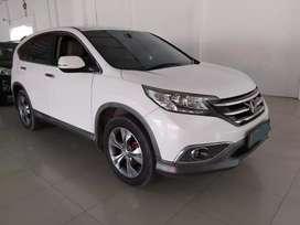 Honda CRV 2.4 Prestige At 2012 / 2013 Putih