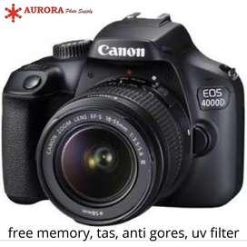 Canon EOS 4000d kit 18-55mm full set bonus