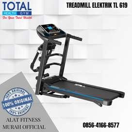 Alat Fitness Treadmill ELEKTRIK TL 619 DAYA 400 WATT