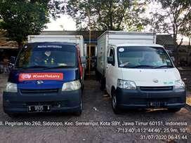 Rental mobil box+driver