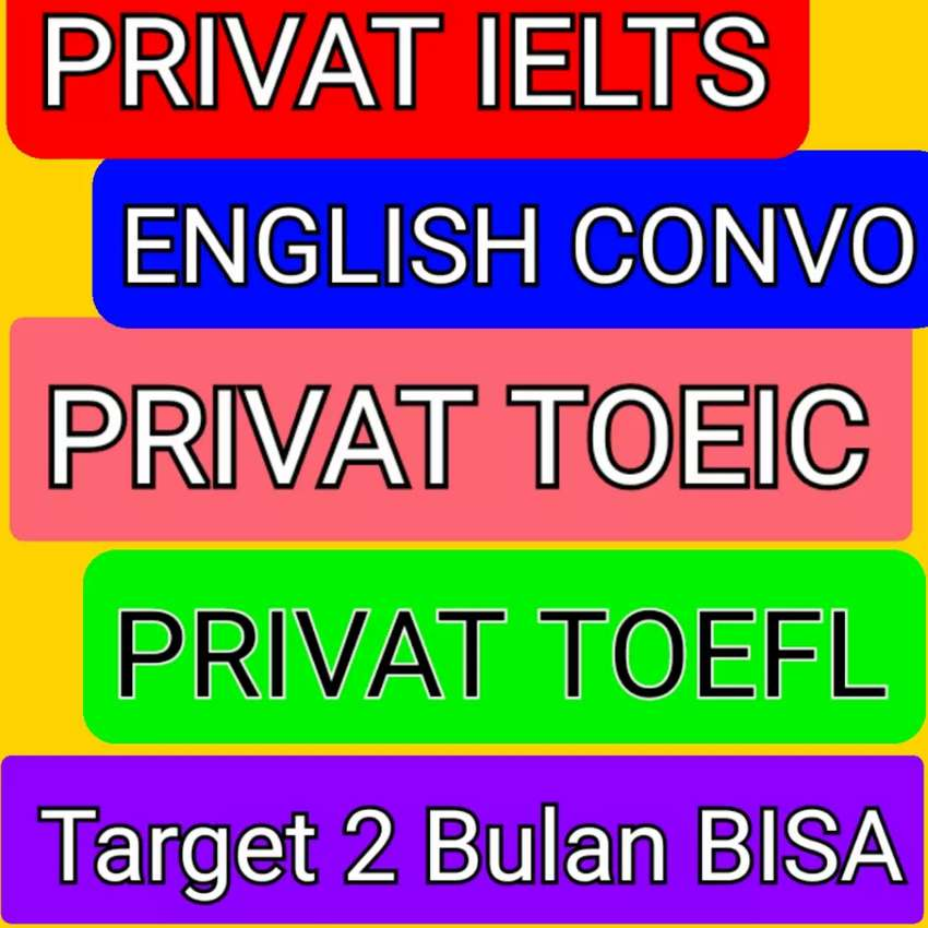 Les Privat Bahasa Inggris IELTS TOEFL TOEIC Conversation Pekanbaru