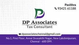 Accounts, Gst, ESI & PF,  Tds & Tcs, Income-tax, etc.