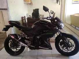 Kawasaki ninja ZX tahun 2013 Bali dharma motor