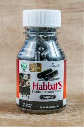 habbat's habbatusauda serbuk murni 200 kapsul
