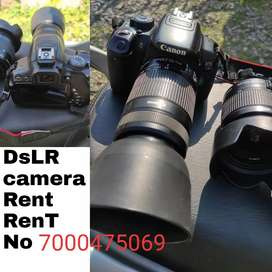 Canon camera RENT RENT RENT direct call kre
