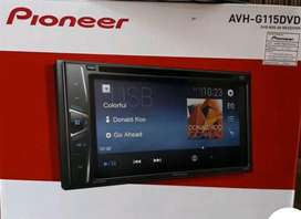 pioneer G115 dvd plus pasang( folks audio)