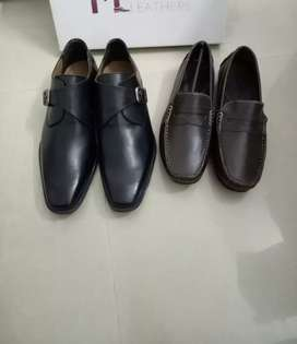 (shoe at Gujarat only) cod all India genuine leather shoe,Chelsea boot
