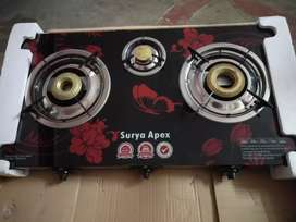 3burner gas stove new