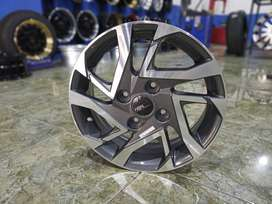 velg std Avanza motif MILLION 50183 HSR R15X5 H4X114,3 ET45 DARK GREY