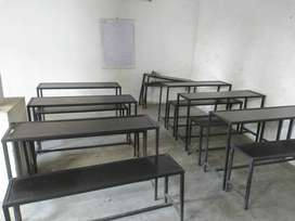 7 Table set & 4 chairs for coachings