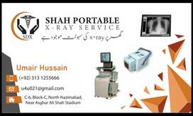 Home service Xray Portable X Ray service for home