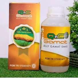 Ready Obat Jelly Gamat QnC, produk herbal ASLI
