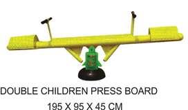 Alat Fitness Outdoor Double Children Press Board