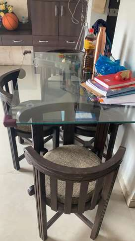 Good condition urgent sale dining table