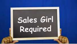 Wanted salesgirl in Panjim-goa