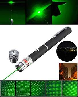 green laser pointer light