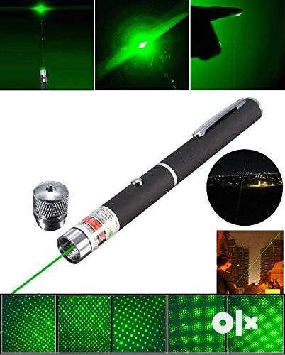green laser pointer light 0