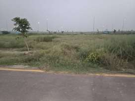 Facing park 5 marla plot for sale in DHA 9 Prism Block E