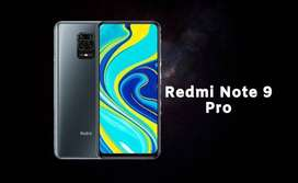 Redmi Note 9 pro phone is available with us with one year company warr