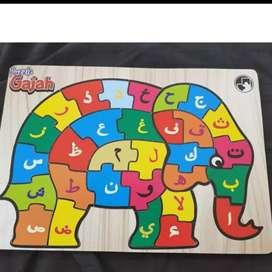 Puzzle anak untuk mengasah kemampuan