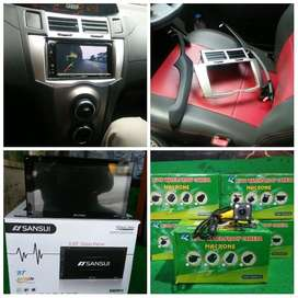 doubledin buat yaris plus fream plus kamera (udin audio)