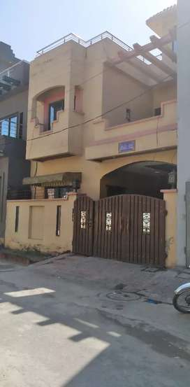 5 marla double story house in alahmad garden