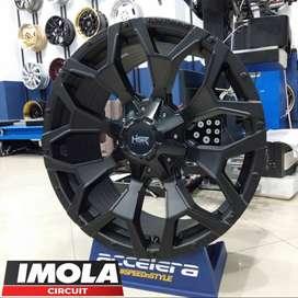 Veleg Mobil Ring 20 Ford Pajero HSR GOKU R20x9 Lobang 6x139,7 Black