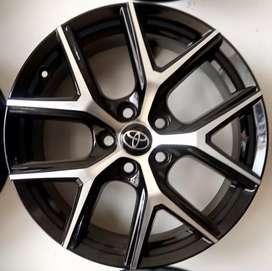Velg Ring 18-7.5 h5-114.3 et45 bisa buat mobil Accord Camry voxi Rush