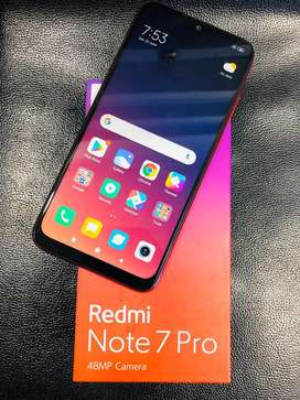 REDMI NOTE 7 PRO 6GB 128GB NEBULA RED COLOR BELOW 1 MONTH