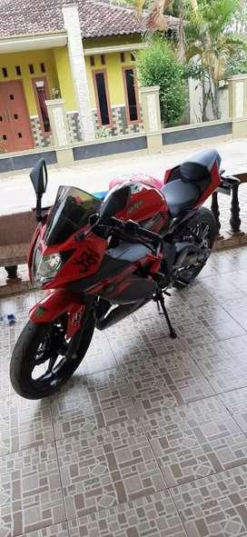 Ninja 250cc jarang pake.siap jalan