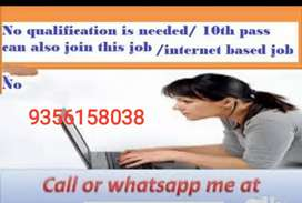 2. Hello friends, ,  home based job simple typing work at home