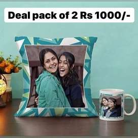 Customize Mug And Cushion For Your Love One Perfect Gift
