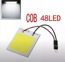 Lampu LED Plafon Mobil Super Terang Putih 48LED