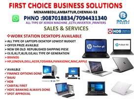 Laptop desktop sale service