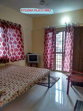 Furnished 1 room kitchen  10000 p.m.Manyata tech park