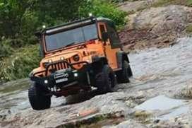 Mahindra modified stylish  new jeep