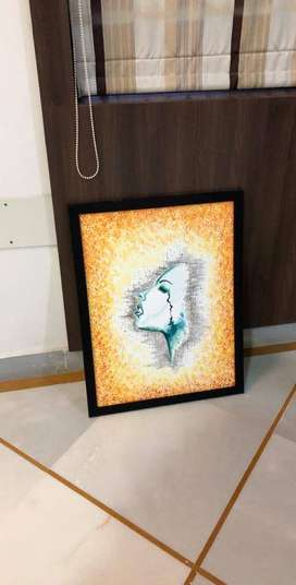 frammed painting