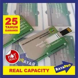 Souvenir Flashdisk / USB Kartu Promosi Custom, Bentuk Model Card Cetak