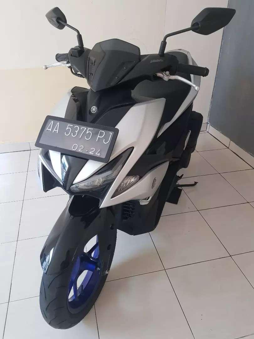 Yamaha aerox 155 type r 2019 plat kebumen 0