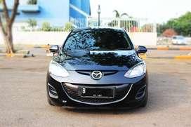 Mazda 2 V Matic 2012 HITAM ISTIMEWA Tinggal pakai DP Minim JAMIN SUKA