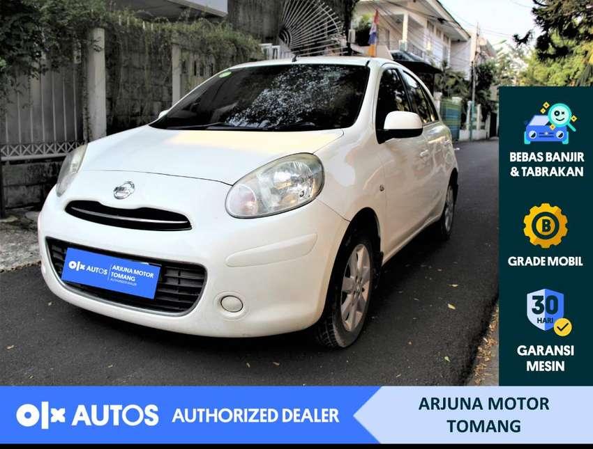 [OLX Autos] Nissan March 2013 1.2 L A/T Bensin Putih #Arjuna Tomang