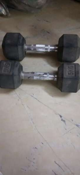 5 kg dumbles