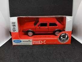 Diecast Mobil Volkswagen I GTI Welly Nex