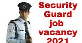 Urgent vacancy security guard