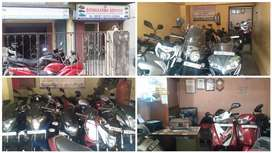 All type used scotty bike and car seller ( showroom) sell & purchase